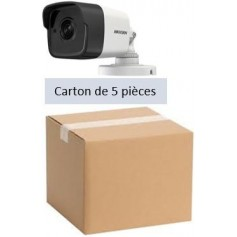PACK HKVISION 5 Mini Tubes Focale-fixe 2,8mm 2MP (PACK5MT5MP-HK)