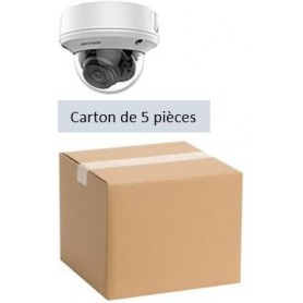PACK HKVISION 5 Mini Dômes Vari-focale manuel 2,8mm 2MP (PACK5MDVFM-HK)