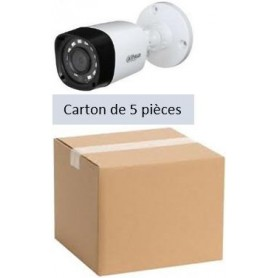 PACK DAHUA 5 Mini Tube Focale-fixe 2,8mm 2MP (PACK5MT-FF2MP-DH)