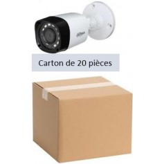PACK DAHUA 20 Mini Tube Focale-fixe 2,8mm 2MP (PACK20MT-FF2MP-DH)