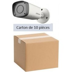 PACK DAHUA 10 Tubes Vari-focale 2,7-13,5mm 4MP (PACK10T-VF4MP-DH)