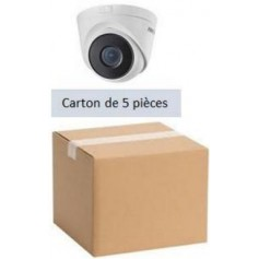 PACK HKVISION 5 Mini Dômes IP Focale fixe 2,8mm 4MP