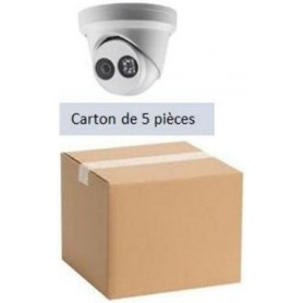 PACK HKVISION 5 Mini Dômes IP Focale fixe 2,8mm WDR 4MP