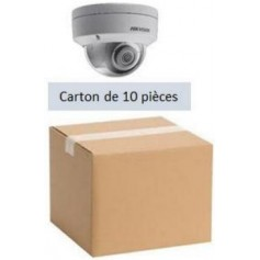 PACK HKVISION 10 Mini Dômes IP Focale fixe 2,8mm WDR 4MP (PACK10MDIP-FF4MP)