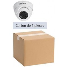 PACK DAHUA 5 Mini Eyeball IP POE Focale-fixe 2,8mm WDR 4MP (PACK5MDIP-FF4MP-DH)