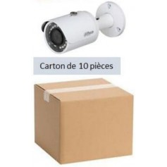 PACK DAHUA 10 Mini Tubel IP POE Focale-fixe 2,8mm 2MP (PACK10MTIP-FF2MP-DH)
