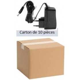 Pack 10 Alimentations 12Volts - 1A (PACKALIM-12V-1A)