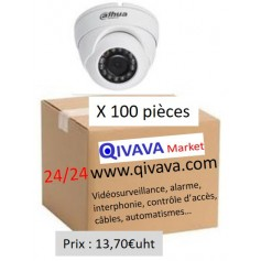 PACK DAHUA 100 Mini Eyeball Focale-fixe 2,8mm 2MP