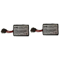 Batterie Lithium Li-SoCl2 3,6V - 3,5Ah pour 2 sirènes (BAT720B740)