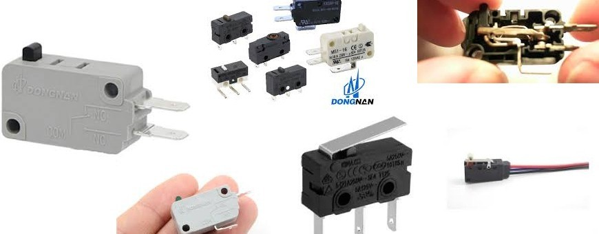 Microswitches - Boutons poussoirs