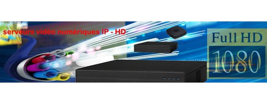 Enregistreurs HD / IP