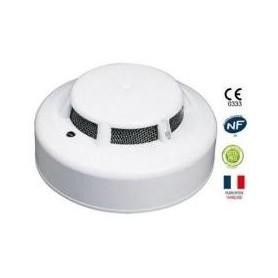 Détecteur Optique de fumée EN54-7 avec relais
