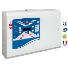 Alarme incendie ECS/CMSI de type 1 conventionnelle 4 zones (BAYA-4)