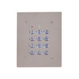 Clavier 1 Relais, 60 codes, plaque inox