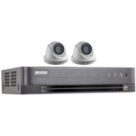 PACK DVR HKVISION 02 Mini Dômes HD