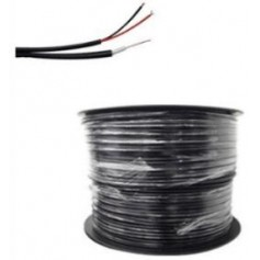 Bobine de 100 m de Câble coaxial KX6 noir (COAX100M2BC/L2)