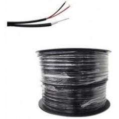 Bobine de 300 m de Câble coaxial KX6 noir cuivre (COAX300M2BC/2)
