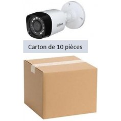 PACK DAHUA 10 Mini Tube Focale-fixe 2,8mm 2MP (PACK10MT-FF2MP-DH)