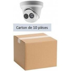 PACK HKVISION 10 Mini Dômes IP Focale fixe 2,8mm WDR 4MP