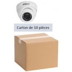 PACK DAHUA 10 Mini Eyeball IP POE Focale-fixe 2,8mm WDR 4MP (PACK10MDIP-FF4MP-DH)