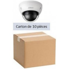 PACK DAHUA 10 Mini Dôme IP POE Focale-fixe 2,8mm 2MP (PACK10MDIP-FF2MP-DH)