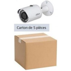 PACK DAHUA 5 Mini Tubel IP POE Focale-fixe 2,8mm 2MP (PACK5MTIP-FF2MP-DH)