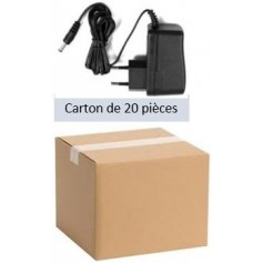 Pack 20 Alimentations 12Volts - 1A (PACK20ALIM-12V-1A)
