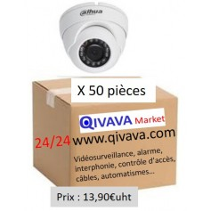 PACK DAHUA 50 Mini Eyeball Focale-fixe 2,8mm 2MP