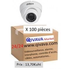 PACK DAHUA 100 Mini Eyeball Focale-fixe 2,8mm 2MP