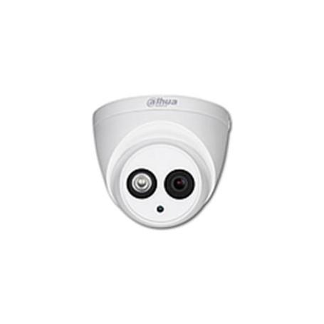 DAHUA HD Mini Dôme Focale-fixe 3,8mm 8MP Audio (HAC-HDW1801EMP-A-0360B)