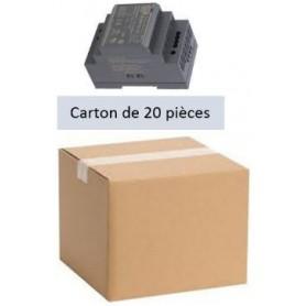 Pack 20 Alimentations 10,8÷13,8VDC  4,5A (HDR-60-12)
