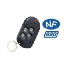 Télécommande 4 boutons type porte clé (MCT234/8)