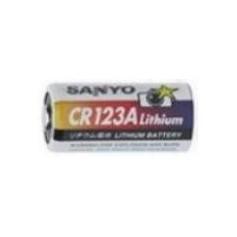 Pile lithium CR123A - 3V SAYNO (CR123A)