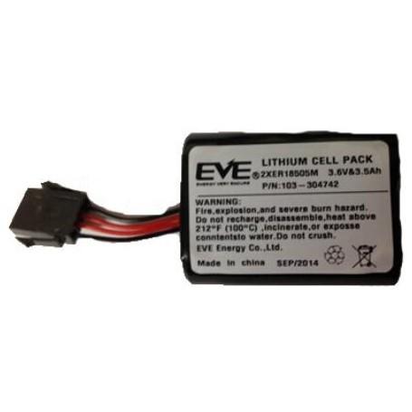 2 X Batteries Lithium pour sirène extérieur (BAT720B740)